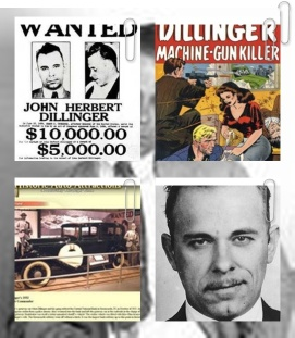 most notable bank robber pix of john-dillinger